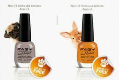 #Faby presenta #Smalti #CrueltyFree, realizzati senza test su #animali (FOTO)
