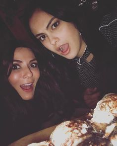 Camila Mendes & Marisol Nichols via Instagram #Riverdale