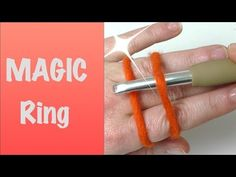 Super einfach! Magischer Ring | Fadenring häkeln | Magic ring - YouTube Magic Ring, Diy And Crafts, Make It Yourself, Knitting, Crochet, Creative, Rings, Loom, Youtube