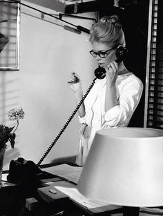 Brigitte Bardot, working girl.