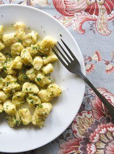 nhoque de batata doce na manteiga de ervas-6