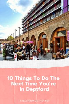 There's more to SE8 than the market and the DLR! Our resident's guide on things to do with the family in Deptford.  #deptford #london #thingstodo Days Out In Scotland, Travel Goals, Travel Tips, Moving To The Uk, Trampoline Park, Family Days Out, Old Street, Things To Do In London, Family Travel