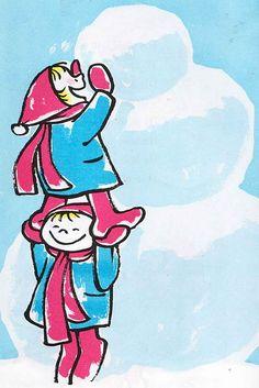 9e17307b Snow P.D. Eastman ~ Roy McKie ~ Random House, 1962 Vintage Children's  Books, Vintage