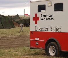 American Red Cross Disaster Relief helping Ruidoso NM Fire evacuees, where over 220 structures were consumed so far.