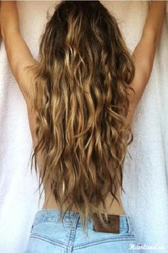 Long Hair is Better...especially for beachy waves.