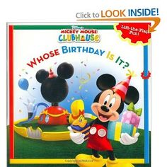 Mickey Mouse Clubhouse: Whose Birthday Is It?....already purchased for our upcoming 2nd bday party. *check!*
