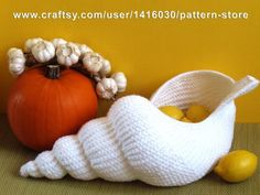 """Spiral shell"" Crochet Basket   Craftsy"