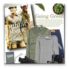 Going Green by sherieme on Polyvore featuring Closed, Faith Connexion, Cheap Monday, adidas Originals, Chanel and By Terry
