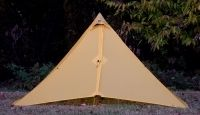 "8.9"" Long  5' Wide  4.5' Tall    44.5 sq/ft    SILNYLON  16oz  $205  • Yellow  • Gray  • Olive Brown"