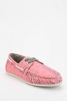 Study Footwear Bandana Boat Shoe #urbanoutfitters