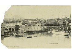 Heraklion, Old Maps, Water Tank, Crete, Vintage Photos, Paris Skyline, The Past, Places, Walls