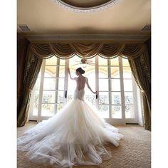 We just can't get over how @taniachegini looks in her most stunning @GaliaLahav gown! #GaliaLahav Pic by @jayjaystudios. #GaliaLahav #realbride #stunning #lowback #drama #romance #bridalgown #weddinggown #bridal #ido #LAwedding#wedding #bridalgown #bridal