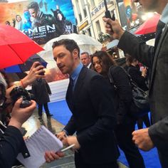 IA ON THE RED CARPET: X-Men Days of Future Past Premiere at Odeon Leicester Square, London