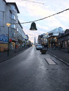 Reykjavik in late November