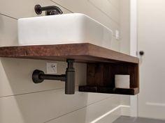 Floating Bathroom Vanities, Ada Bathroom, Floating Vanity, Small Bathroom Vanities, Bathroom Sink Vanity, Wood Bathroom, Bathroom Interior, Handicap Bathroom, Small Vanity Sink