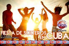 Fiesta de Solteros en CUBA, del 12 al 18 de Octubre!, Reserva tu lugar YA!   Agencia de Viajes en Xalapa Excel Tours