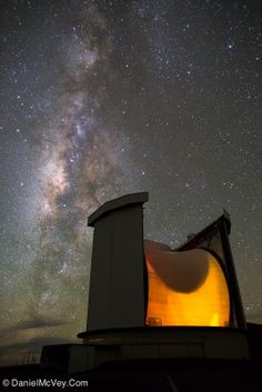 Milky Way: James Clerk Maxwell Telescope James Clerk Maxwell Telescope (JCMT) is the largest astronomical telescope in the world designed to operate in the submillimeter wavelength region of the spectrum. Summit of Mauna Kea, Hawaii.