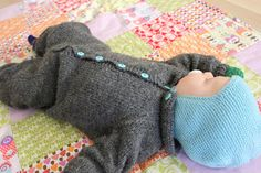 Laget av SiljeVanilje: Gårsdagens outfit Eco Baby, Baby Knitting, Needlework, Pullover, Crafts, Diy, Outfits, Clothes, Tejidos