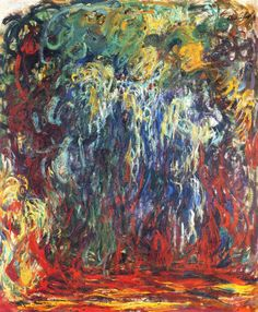 lonequixote:  Weeping Willow, GivernybyClaude Monet (via @lonequixote)