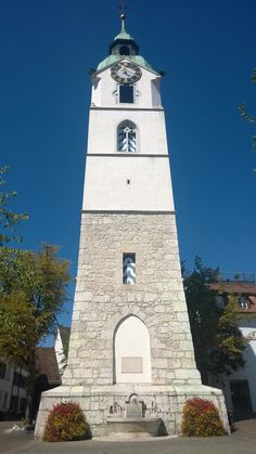 Tower in Olten, Solothurn European Countries, Hiking Trails, Alps, Old Town, Clocks, Switzerland, Cathedral, Tower, Country