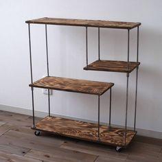 Spectacular DIY Farmhouse Shelves - Friseur Einrichtung - Shelves in Bedroom Pipe Furniture, Furniture Design, Furniture Ideas, Home Interior, Interior Design, Interior Plants, Muebles Living, Iron Shelf, Diy Casa