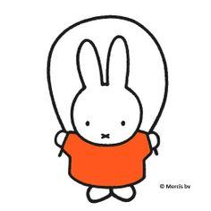 Miffy skipping
