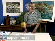 Watercolor Tutorial: Texturing Watercolor with Acrylic Gel Medium  Cheng-Khee Chee shows you how to paint exciting textures with watercolor by painting over an acrylic gloss gel medium resist. The gel medium method forms the basis for Cheng-Khee Chee's fun splash color process.