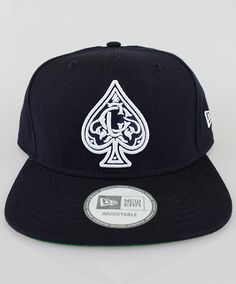 super popular 03a87 e84ee Crooks   Castles The Monogram Spades Snapback Cap in Dark Navy Streetwear,  Zamki, Monogram