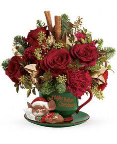 Teleflora's Send a Hug Night Before Christmas Flowers