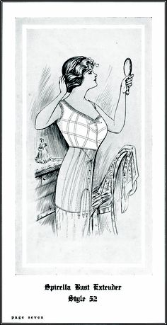 Spirella bust extender from http://commons.wikimedia.org/wiki/File:SpirellaAccessories1913page7.png