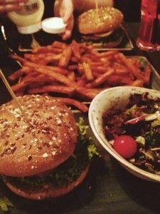 Vegan burger in Bonn