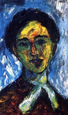 Woman  Emile Nolde - 1910