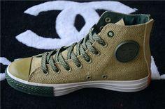 converse chuck taylor all star zip high tops mens flax army green khaki