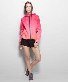OYSHO Shaded tone windbreaker jacket