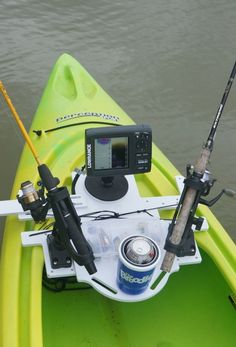 Kayak Fishing Setup Customizable Kayak and SUP Technique - Broodle Brands Kayak Fishing Tips, Kayaking Tips, Canoe And Kayak, Best Fishing, Fly Fishing, Kayak Boats, Fishing Boats, Pesca Spinning, Kayak Fishing Accessories