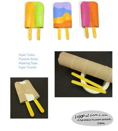 popsicle art project can see especially for summer time ice cream stand play