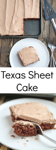 This Texas Sheet Cak