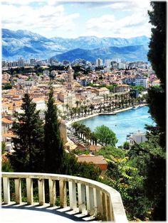 It was so nice traveling through here - Split Croatia