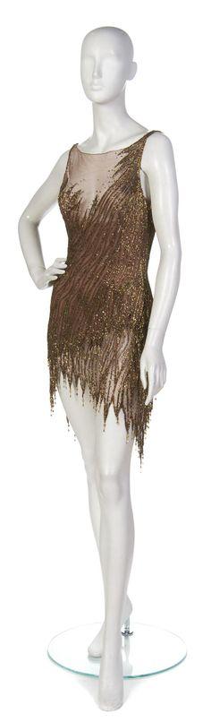 Bob Mackie, (American, b. 1940), Cocktail Dress