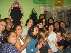 Convivencia NT con Silvia Navarro en Sabor Amor julio 2012