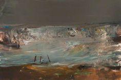 Your Paintings - Joan Kathleen Harding Eardley paintings Landscape Artwork, Contemporary Landscape, Abstract Landscape, Abstract Art, Seascape Paintings, Your Paintings, Miguel Angel, Art Uk, Illustrations