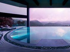 Dip into the calming water 4,000 sq. feet above the rain forest at Vivanta by Taj – Madikeri, Coorg