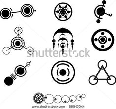Vector Images, Illustrations and Cliparts: Crop Circle Designs ...