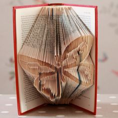 Butterfly Folded Upcycled Book Art Sculpture by stuffbylosyposy, £35.00