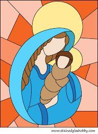 Slikovni rezultat za stained glass templates religious