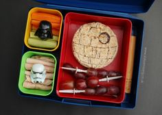 Eats Amazing - Death Star Lunch for Star Wars Day 2014
