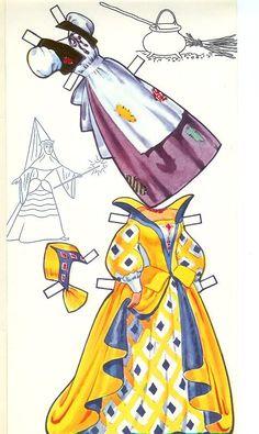 Cinderella Paper Dolls Crafts Disney Madame Alexander Free