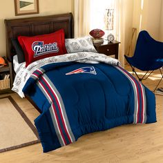 New England Patriots Contrast Bed in a Bag (Full) 96a980c64