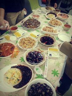 네비팀과 몇 유엑서들. 겜랩 우창 정남형님과 함께한 저녁 라이라이