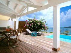 LES VENTS DE PINEL Charmante villa vue mer / 6 personnes - Location Villa #SaintMartin #CuldeSac